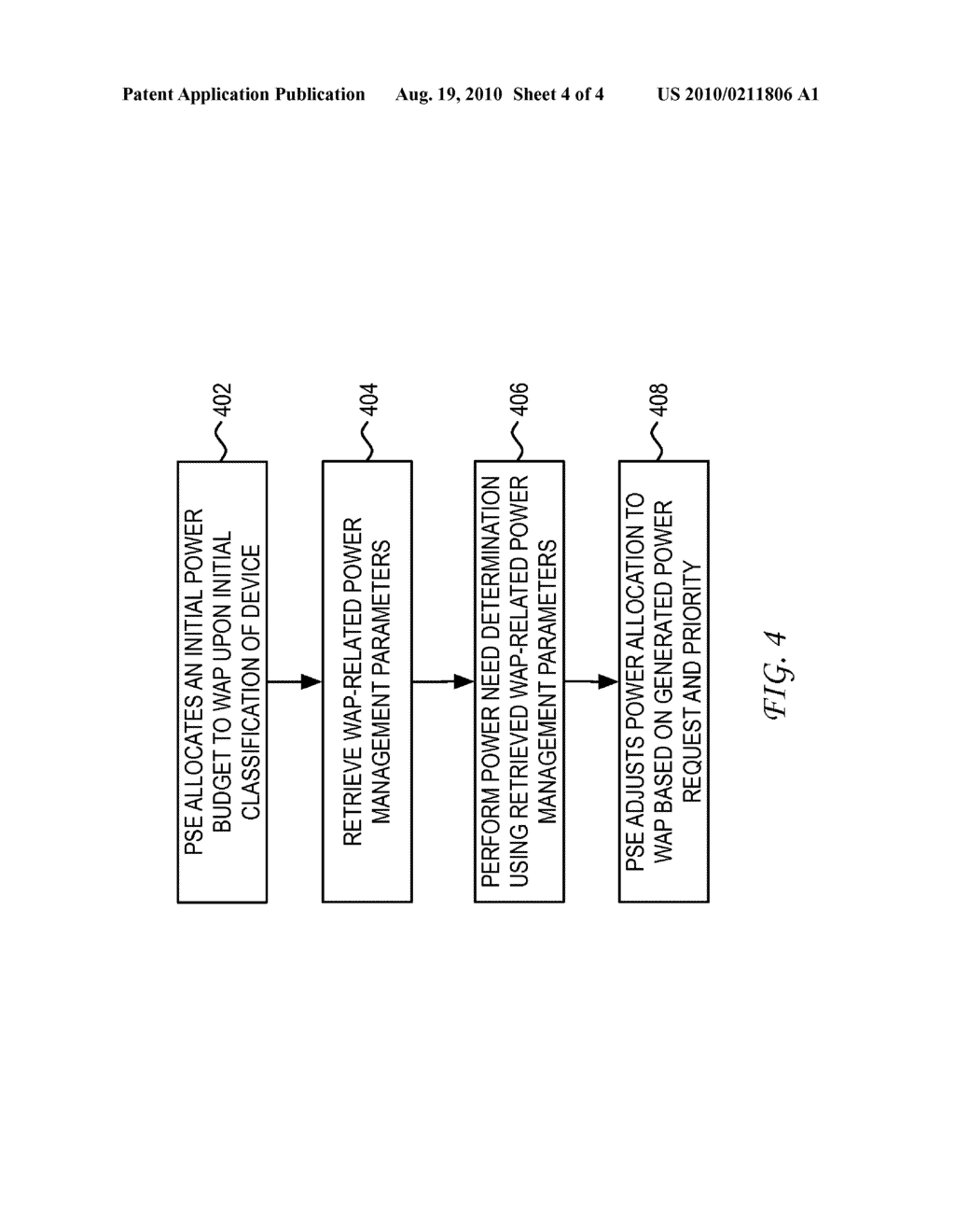 SYSTEM AND METHOD FOR DYNAMIC POWER PROVISIONING FOR A WIRELESS ACCESS POINT - diagram, schematic, and image 05