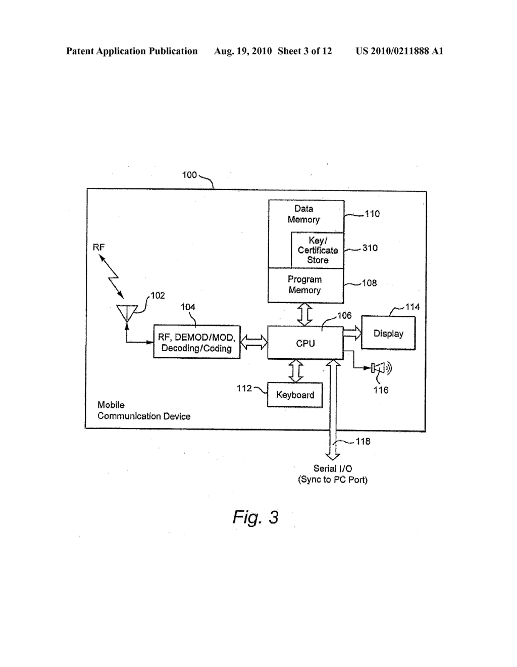 METHOD AND APPARATUS FOR PROVIDING MINIMAL STATUS DISPLAY - diagram, schematic, and image 04