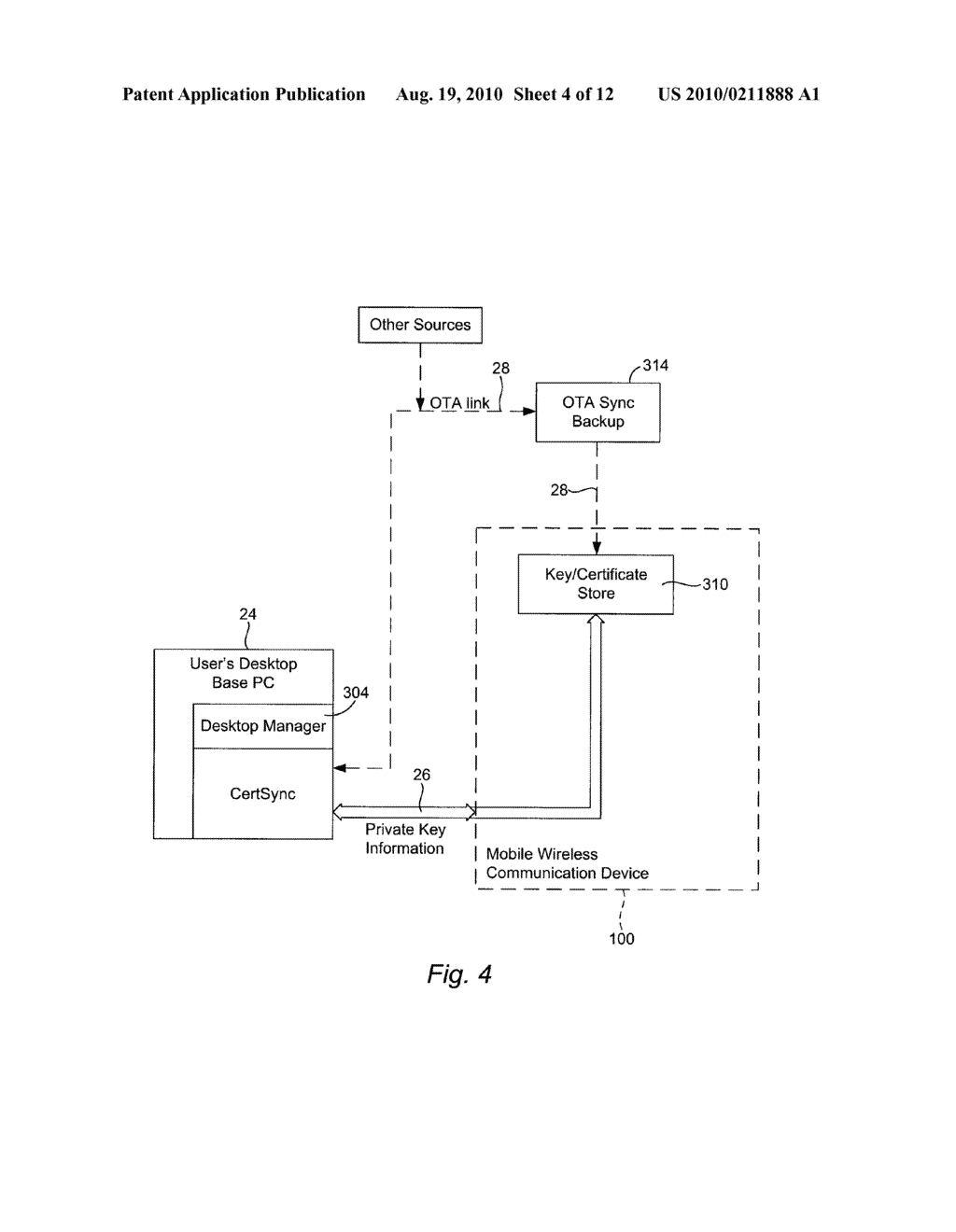 METHOD AND APPARATUS FOR PROVIDING MINIMAL STATUS DISPLAY - diagram, schematic, and image 05