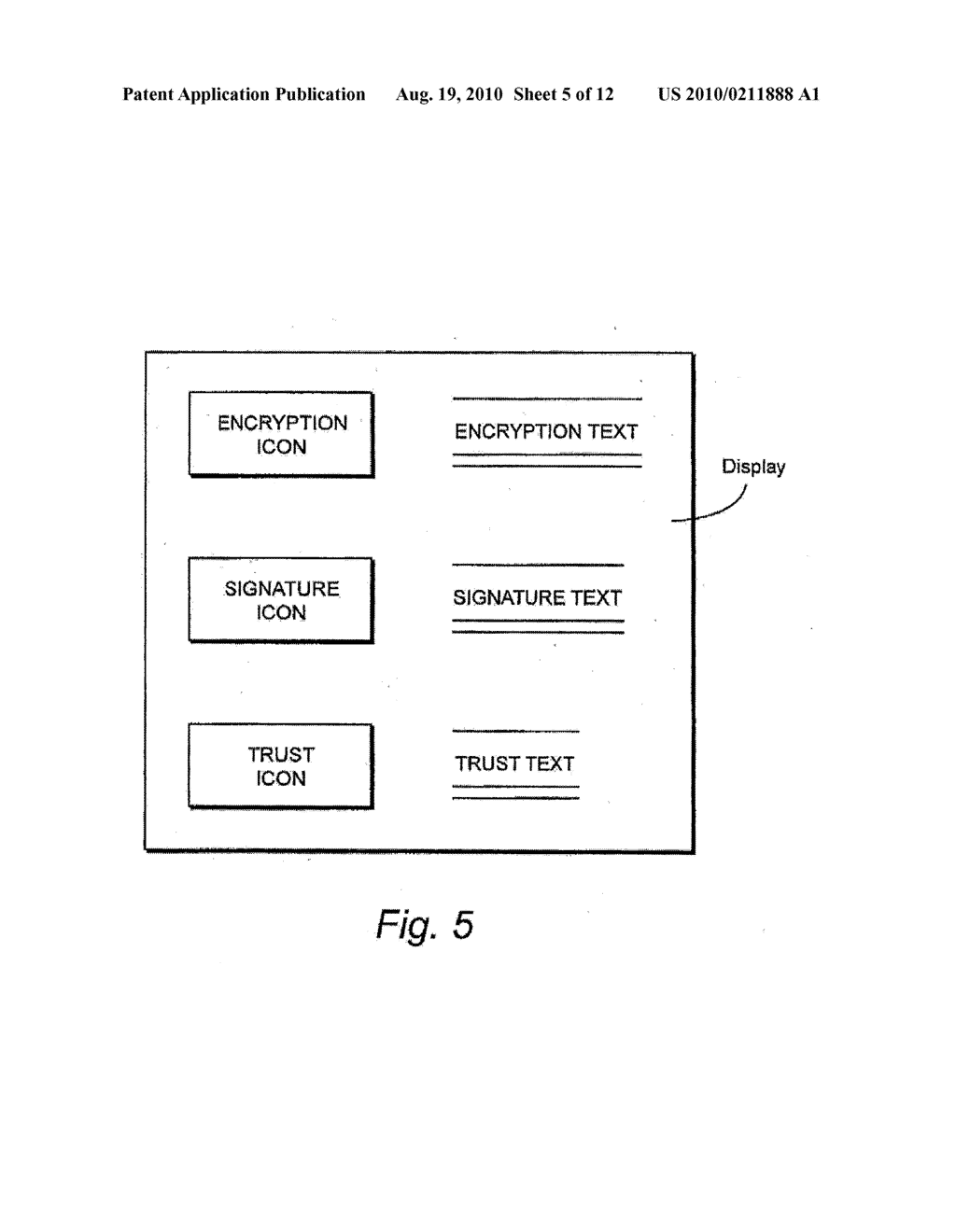 METHOD AND APPARATUS FOR PROVIDING MINIMAL STATUS DISPLAY - diagram, schematic, and image 06