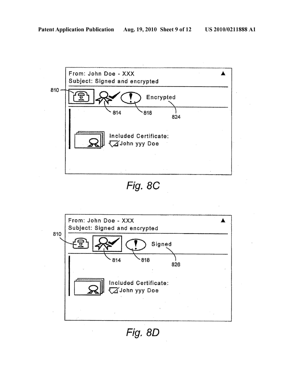 METHOD AND APPARATUS FOR PROVIDING MINIMAL STATUS DISPLAY - diagram, schematic, and image 10