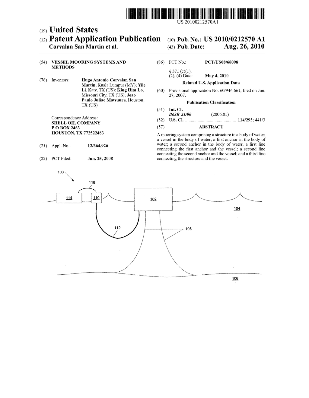 VESSEL MOORING SYSTEMS AND METHODS - diagram, schematic, and image 01