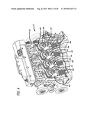 Cylinder and piston assemblies for opposed piston engines diagram and image