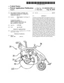 Belt driven wheel support and suspension system on a personal wheeled vehicle diagram and image