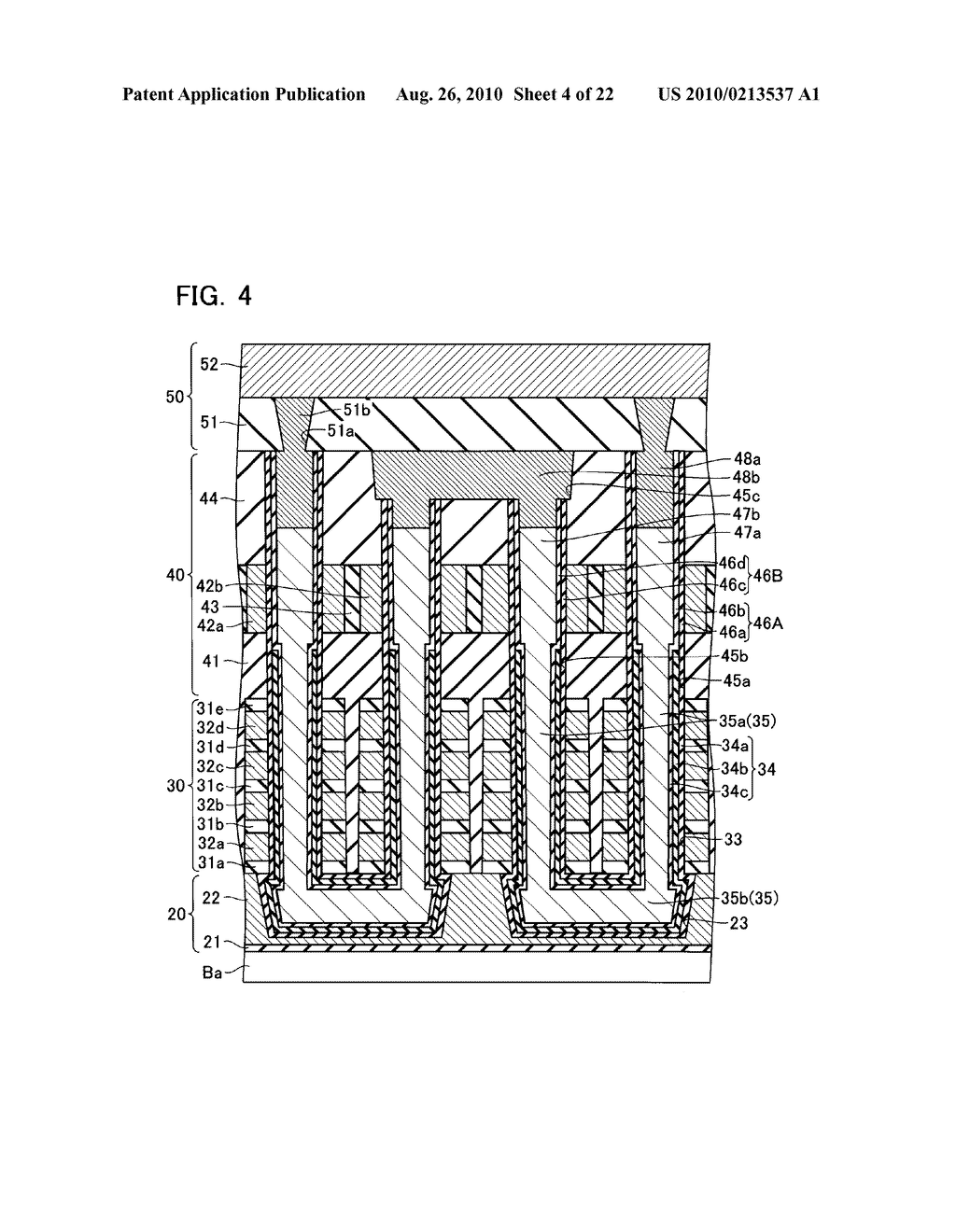 NONVOLATILE SEMICONDUCTOR MEMORY DEVICE AND METHOD OF MANUFACTURING THE SAME - diagram, schematic, and image 05