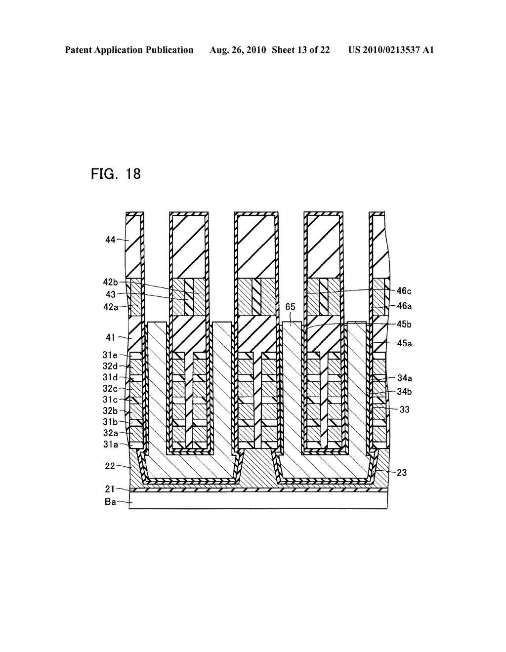 NONVOLATILE SEMICONDUCTOR MEMORY DEVICE AND METHOD OF MANUFACTURING THE SAME - diagram, schematic, and image 14