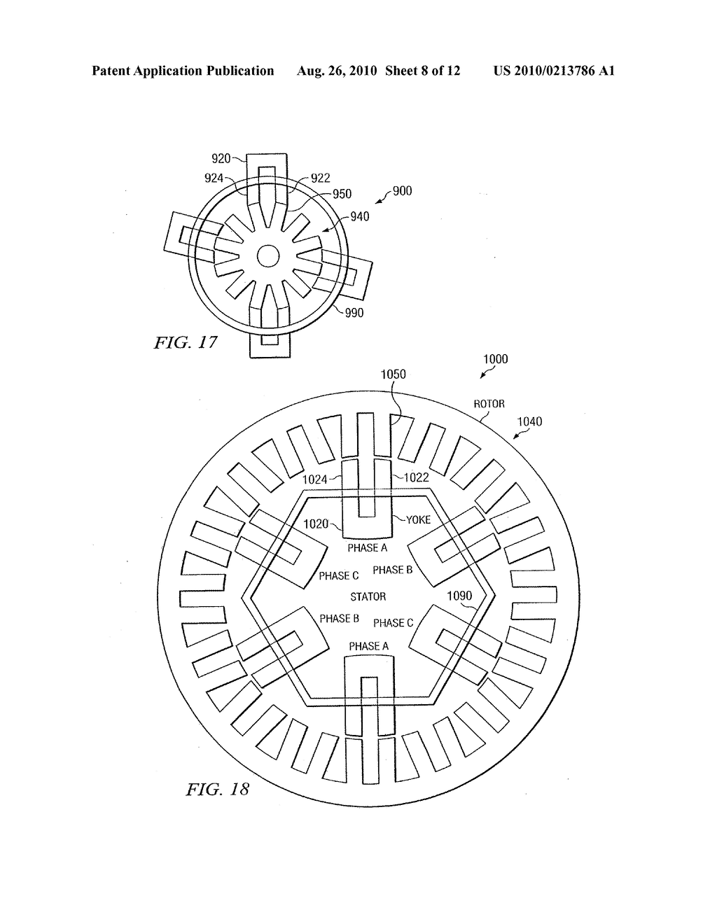 ELECTRIC MACHINE HAVING A HIGH-TORQUE SWITCHED RELUCTANCE MOTOR - diagram, schematic, and image 09