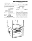 FOAM INSERTS FOR REFRIGERATOR CABINET diagram and image
