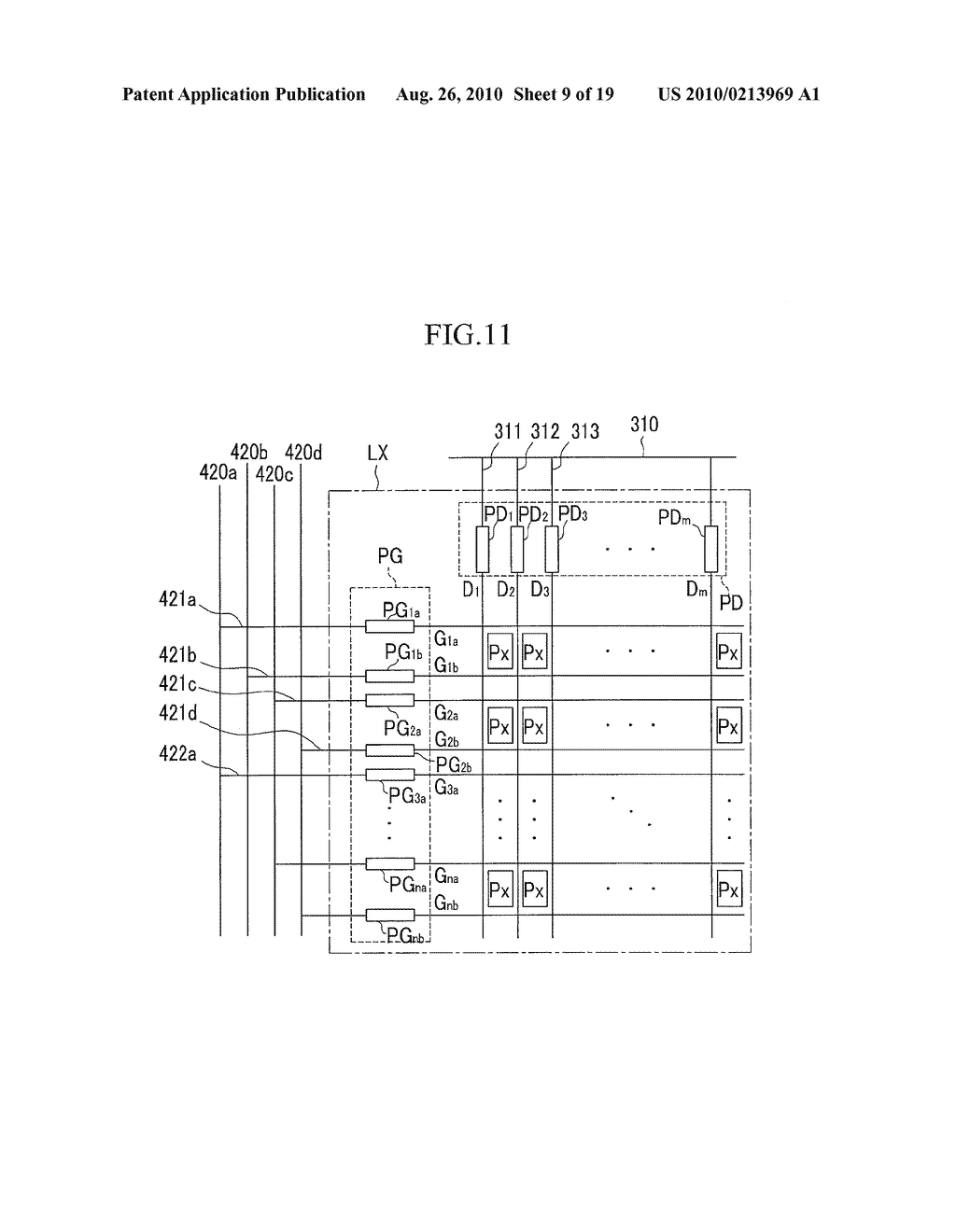 LIQUID CRYSTAL DISPLAY AND TEST METHOD THEREOF - diagram, schematic, and image 10