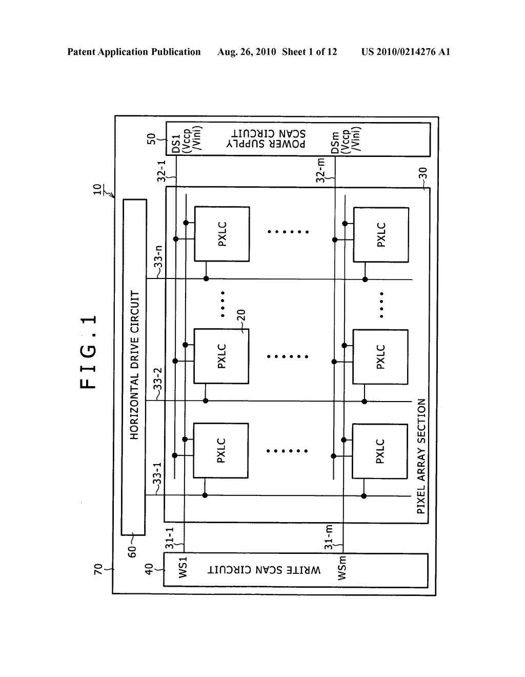 DISPLAY APPARATUS, DRIVING METHOD OF DISPLAY APPARATUS AND ELECTRONIC EQUIPMENT - diagram, schematic, and image 02