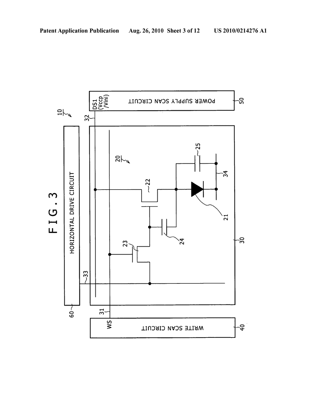 DISPLAY APPARATUS, DRIVING METHOD OF DISPLAY APPARATUS AND ELECTRONIC EQUIPMENT - diagram, schematic, and image 04