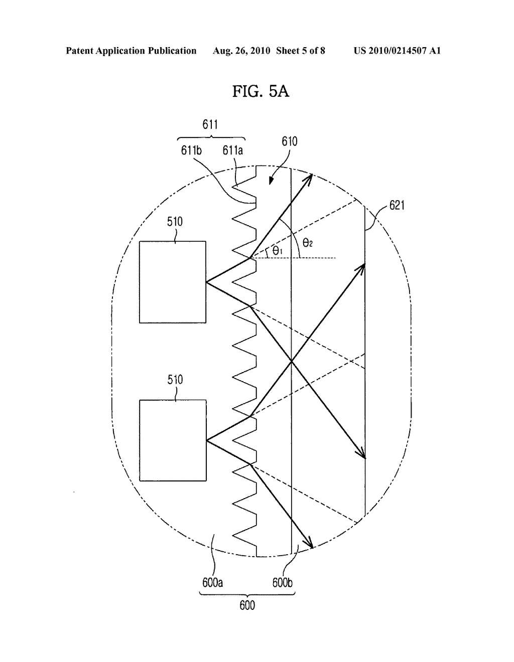 Back light unit and liquid crystal display comprising the same - diagram, schematic, and image 06