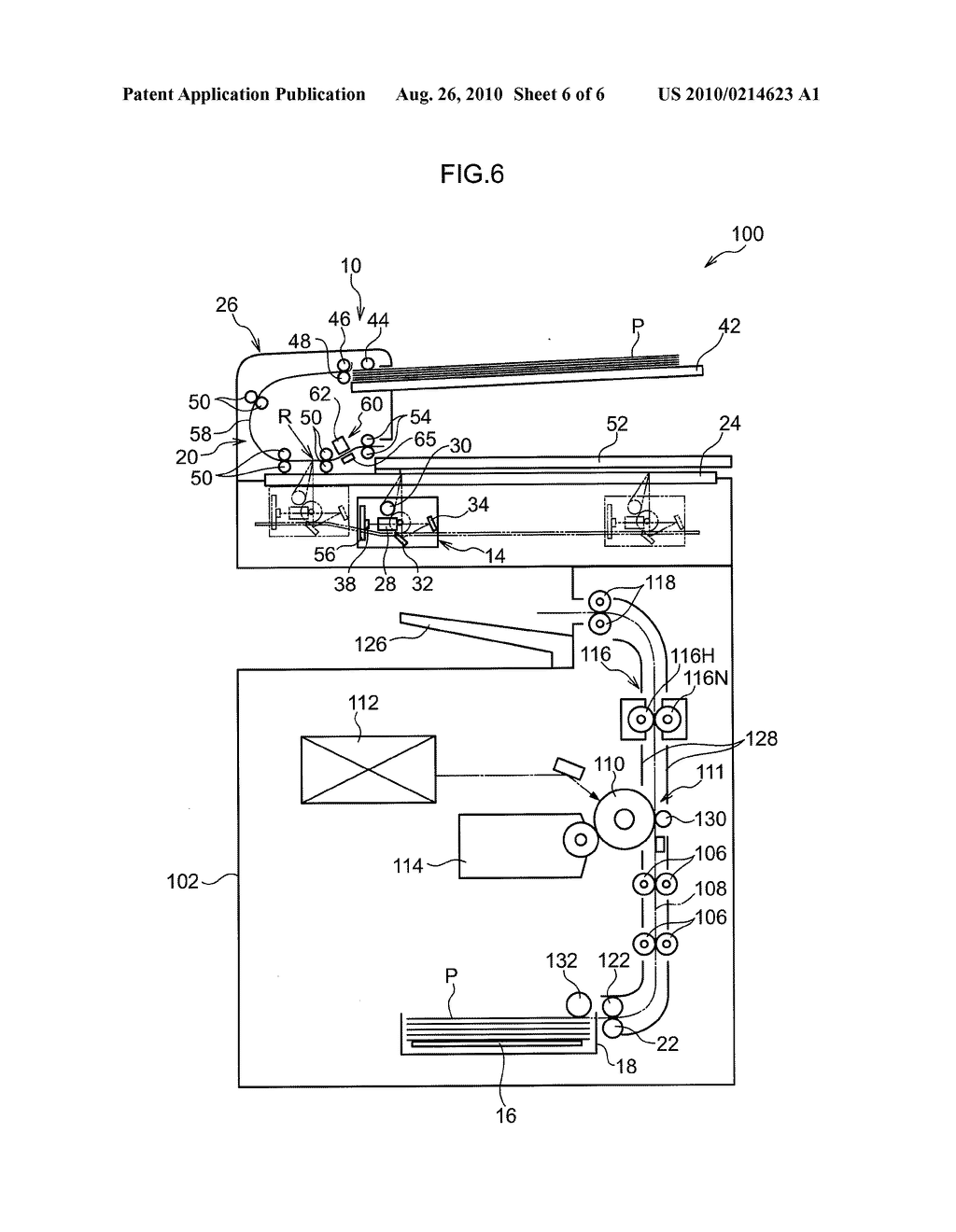 IMAGE READING DEVICE AND IMAGE FORMING APPARATUS - diagram, schematic, and image 07