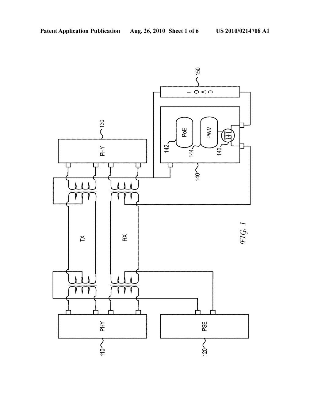 System and Method for Using a PHY to Locate a Thermal Signature in a Cable Plant for Diagnostic, Enhanced, and Higher Power Applications - diagram, schematic, and image 02