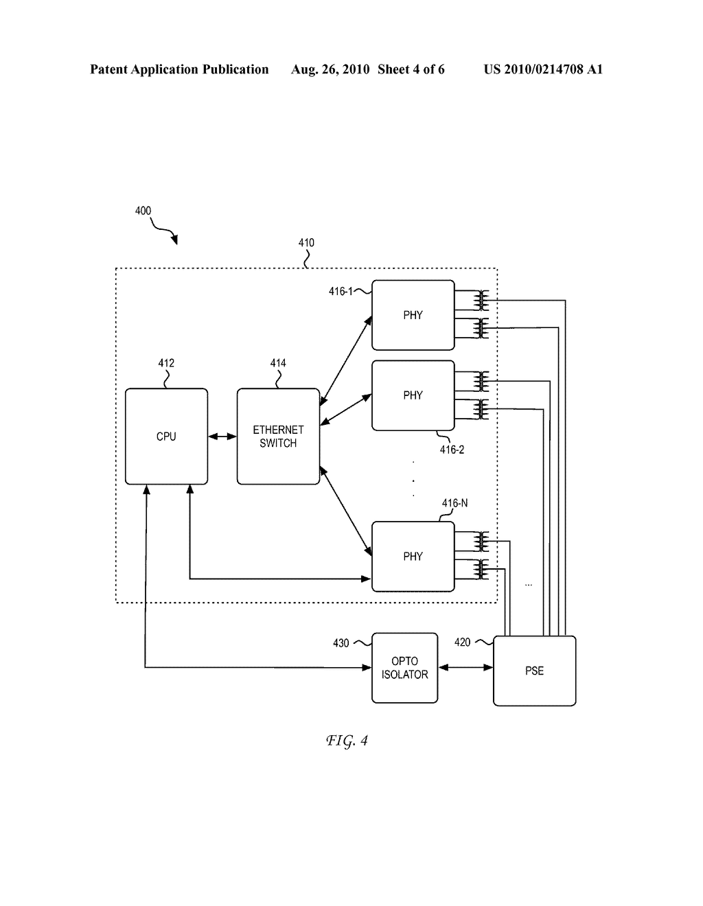 System and Method for Using a PHY to Locate a Thermal Signature in a Cable Plant for Diagnostic, Enhanced, and Higher Power Applications - diagram, schematic, and image 05
