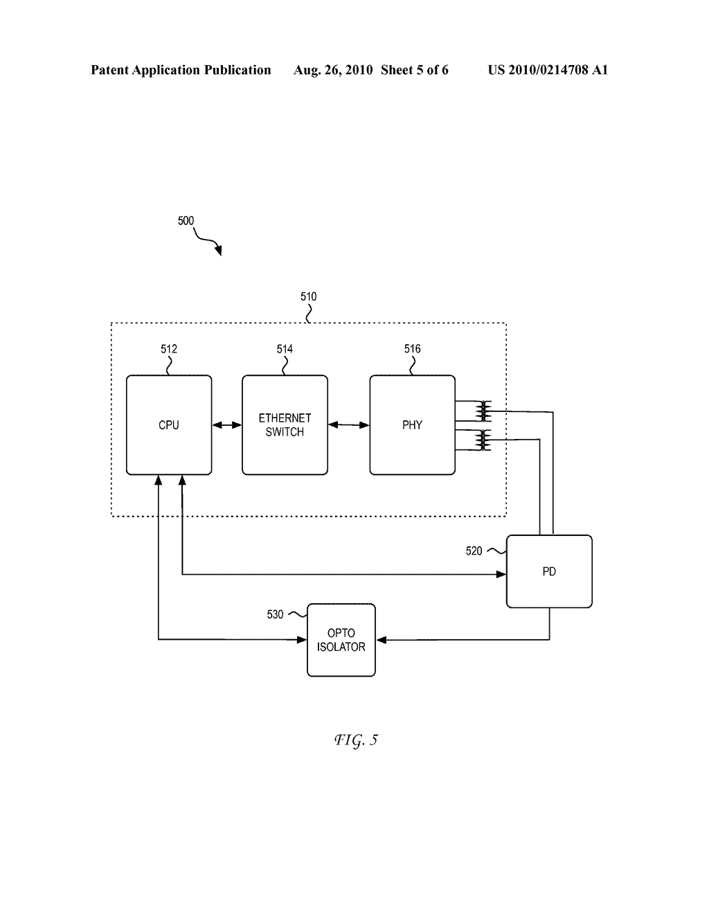 System and Method for Using a PHY to Locate a Thermal Signature in a Cable Plant for Diagnostic, Enhanced, and Higher Power Applications - diagram, schematic, and image 06