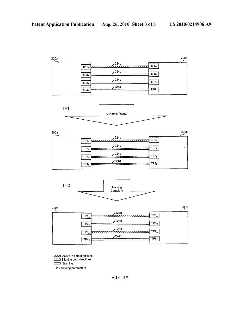 Method And System For Dynamically Determining When To Train Ethernet Link Partners To Support Energy Efficient Ethernet Networks - diagram, schematic, and image 04