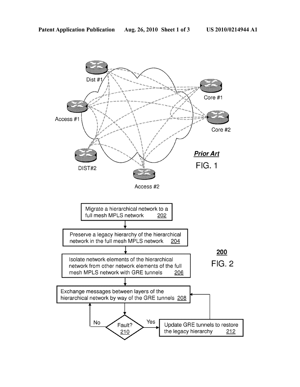 SYSTEM AND METHOD FOR OVERLAYING A HIERARCHICAL NETWORK DESIGN ON A FULL MESH NETWORK - diagram, schematic, and image 02