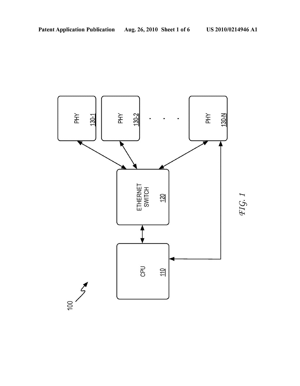 System and Method for Diagnosing a Cabling Infrastructure Using a PHY - diagram, schematic, and image 02