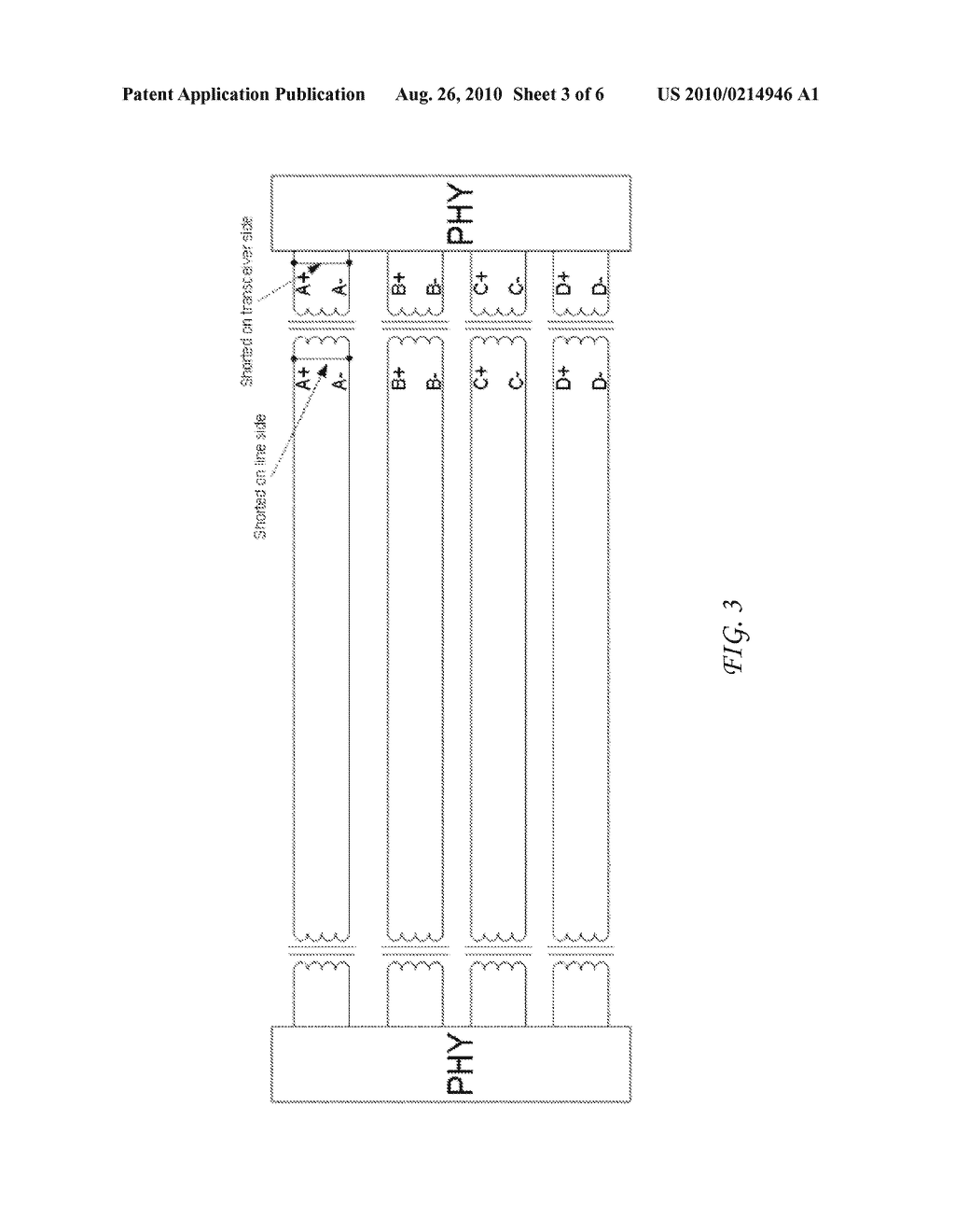 System and Method for Diagnosing a Cabling Infrastructure Using a PHY - diagram, schematic, and image 04