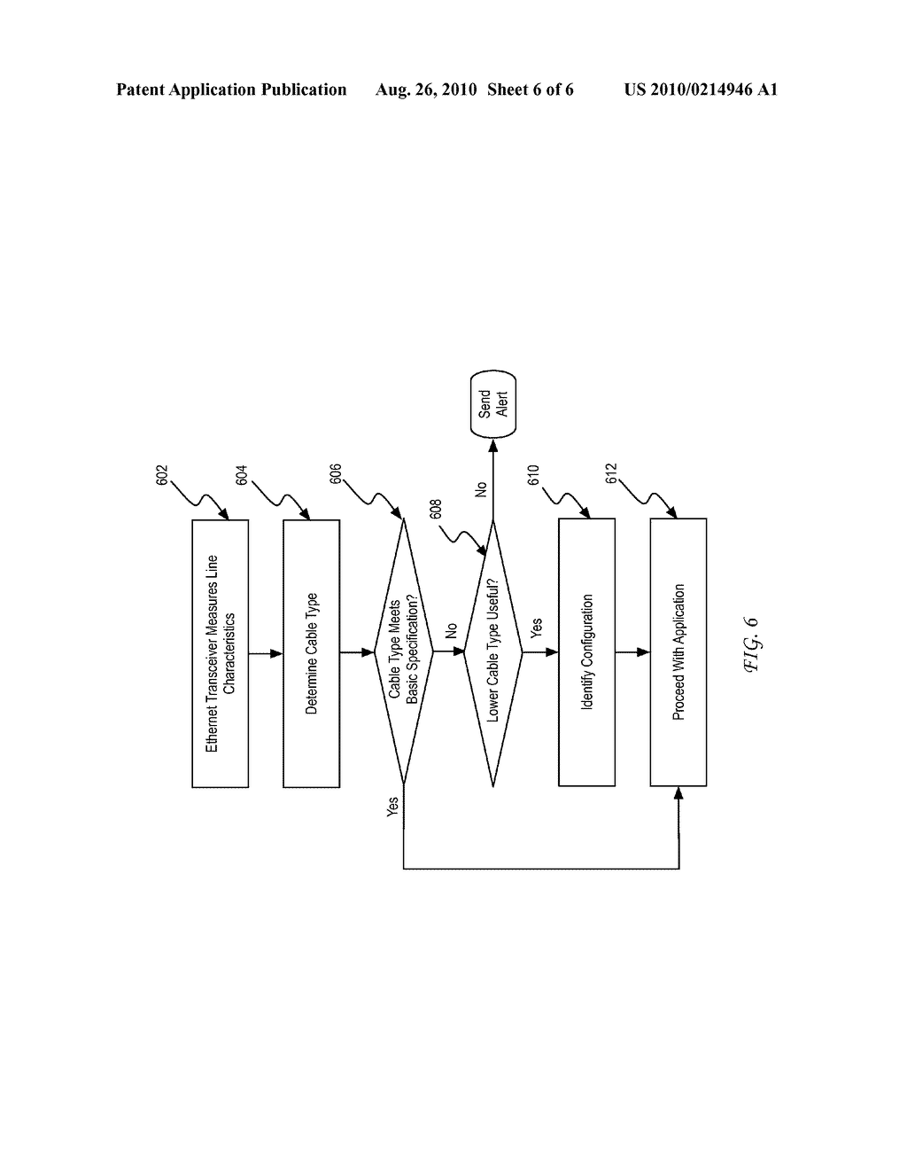 System and Method for Diagnosing a Cabling Infrastructure Using a PHY - diagram, schematic, and image 07