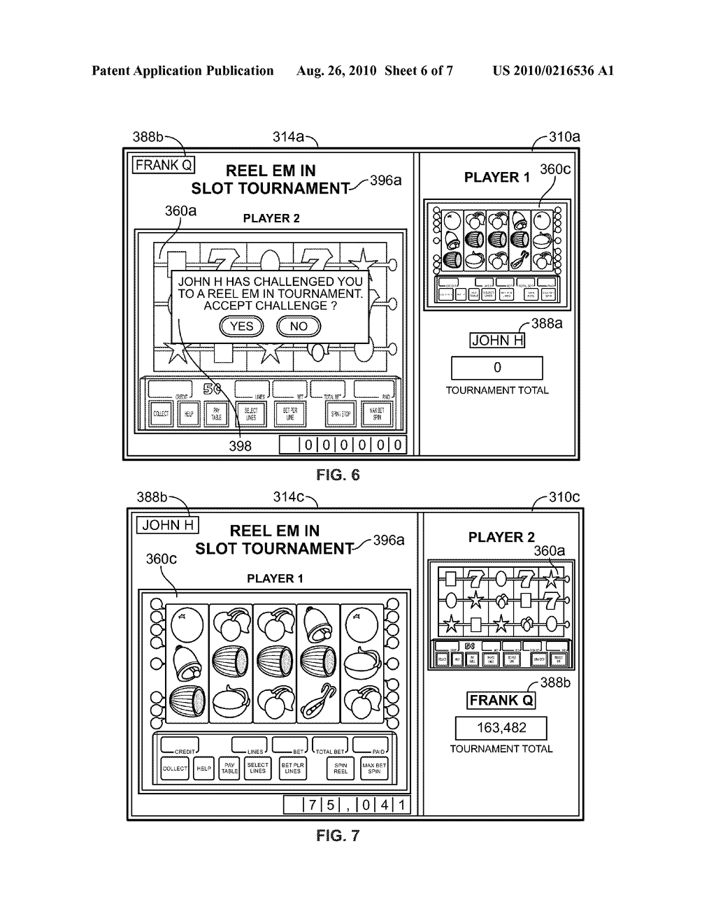 GAMING SYSTEM HAVING CHALLENGE GAMEPLAY - diagram, schematic, and image 07