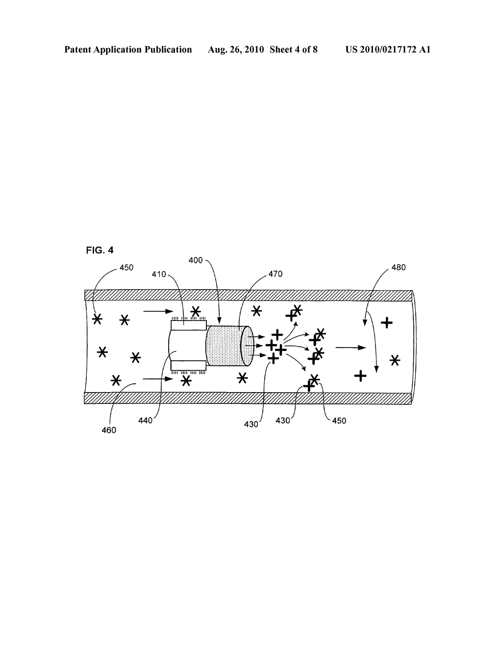 Device, system, and method for controllably reducing inflammatory mediators in a subject - diagram, schematic, and image 05