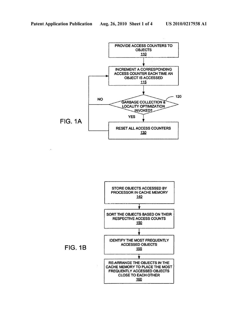 METHOD AND AN APPARATUS TO IMPROVE LOCALITY OF REFERENCES FOR OBJECTS - diagram, schematic, and image 02