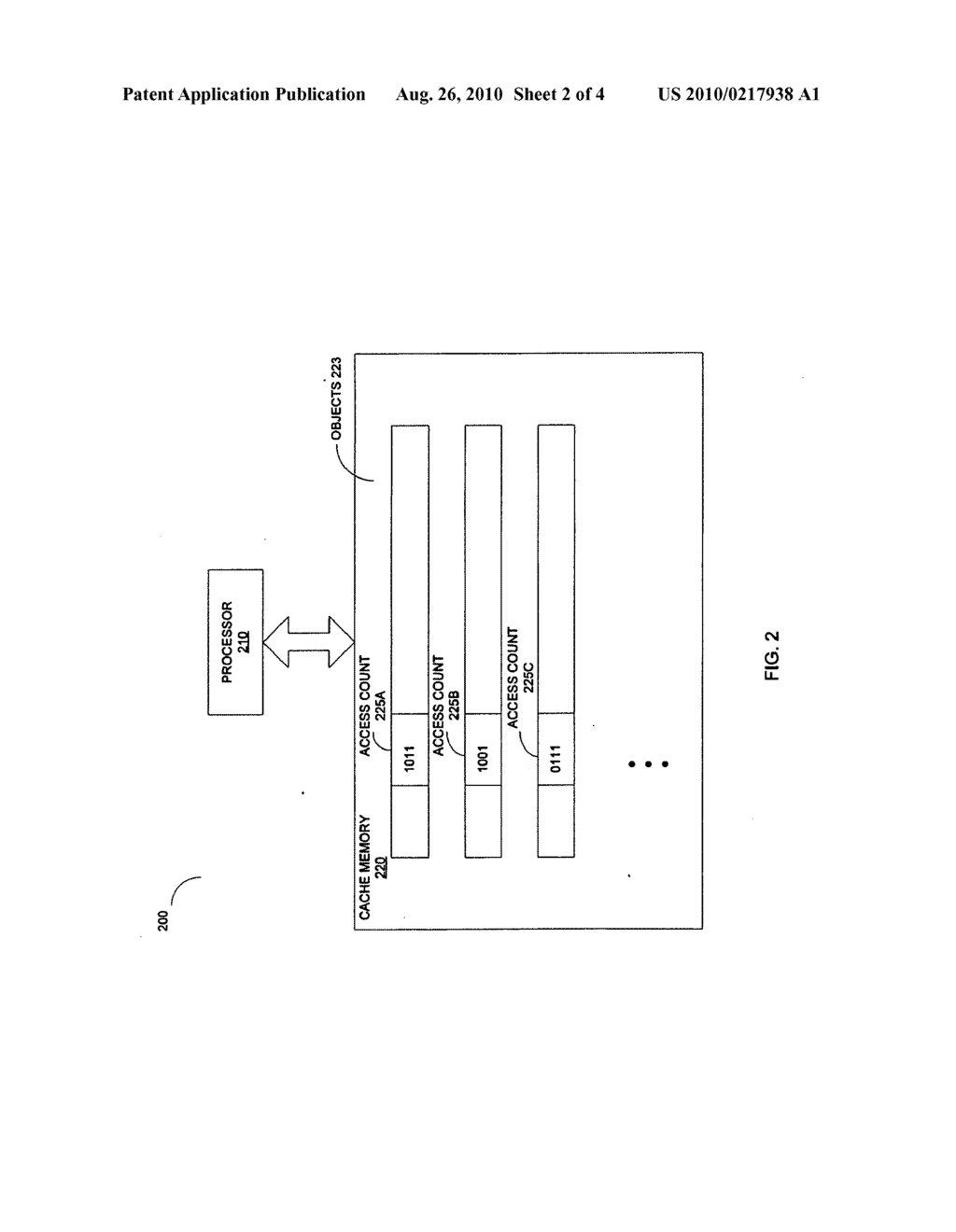 METHOD AND AN APPARATUS TO IMPROVE LOCALITY OF REFERENCES FOR OBJECTS - diagram, schematic, and image 03