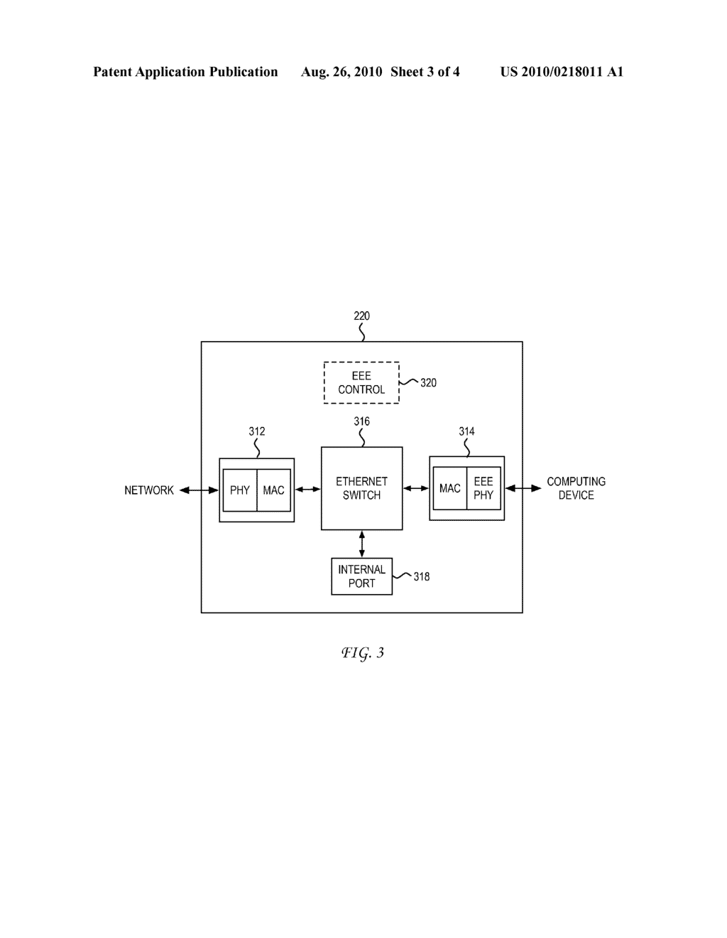 System and Method for Energy Savings Through Emulation of Wake on Lan in Energy Efficient Ethernet - diagram, schematic, and image 04