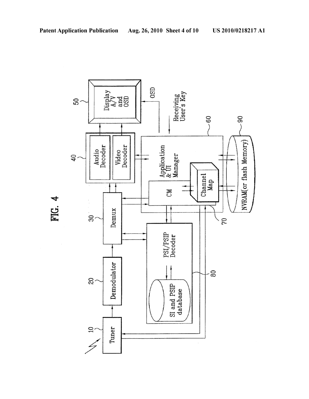 DIGITAL TELEVISION SIGNAL, DIGITAL TELEVISION RECEIVER, AND METHOD OF PROCESSING DIGITAL TELEVISION SIGNAL - diagram, schematic, and image 05