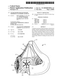 UNITARY RESPIRATOR WITH MOLDED THERMOSET ELASTOMERIC ELEMENTS diagram and image