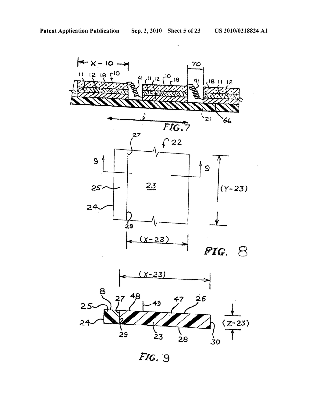 Substrate structures for integrated series connected photovoltaic arrays and process of manufacture of such arrays - diagram, schematic, and image 06
