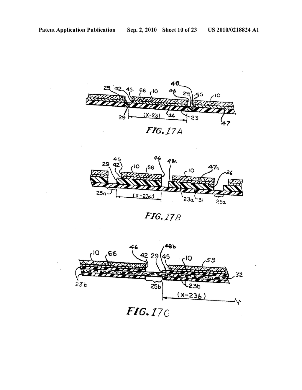 Substrate structures for integrated series connected photovoltaic arrays and process of manufacture of such arrays - diagram, schematic, and image 11