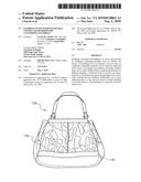 HANDBAGS WITH INTERCHANGEABLE COVERS AND METHODS FOR CUSTOMIZING HANDBAGS diagram and image