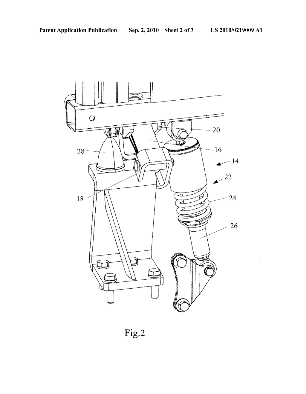 Agricultural Vehicle Suspension - diagram, schematic, and image 03