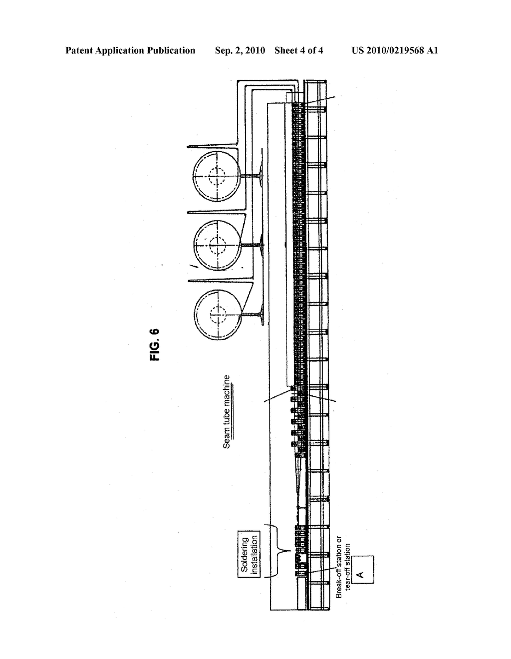 METHOD FOR IN-LINE HEAT EXCHANGER TUBE BRAZING - diagram, schematic, and image 05