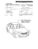 Wiper lights device diagram and image
