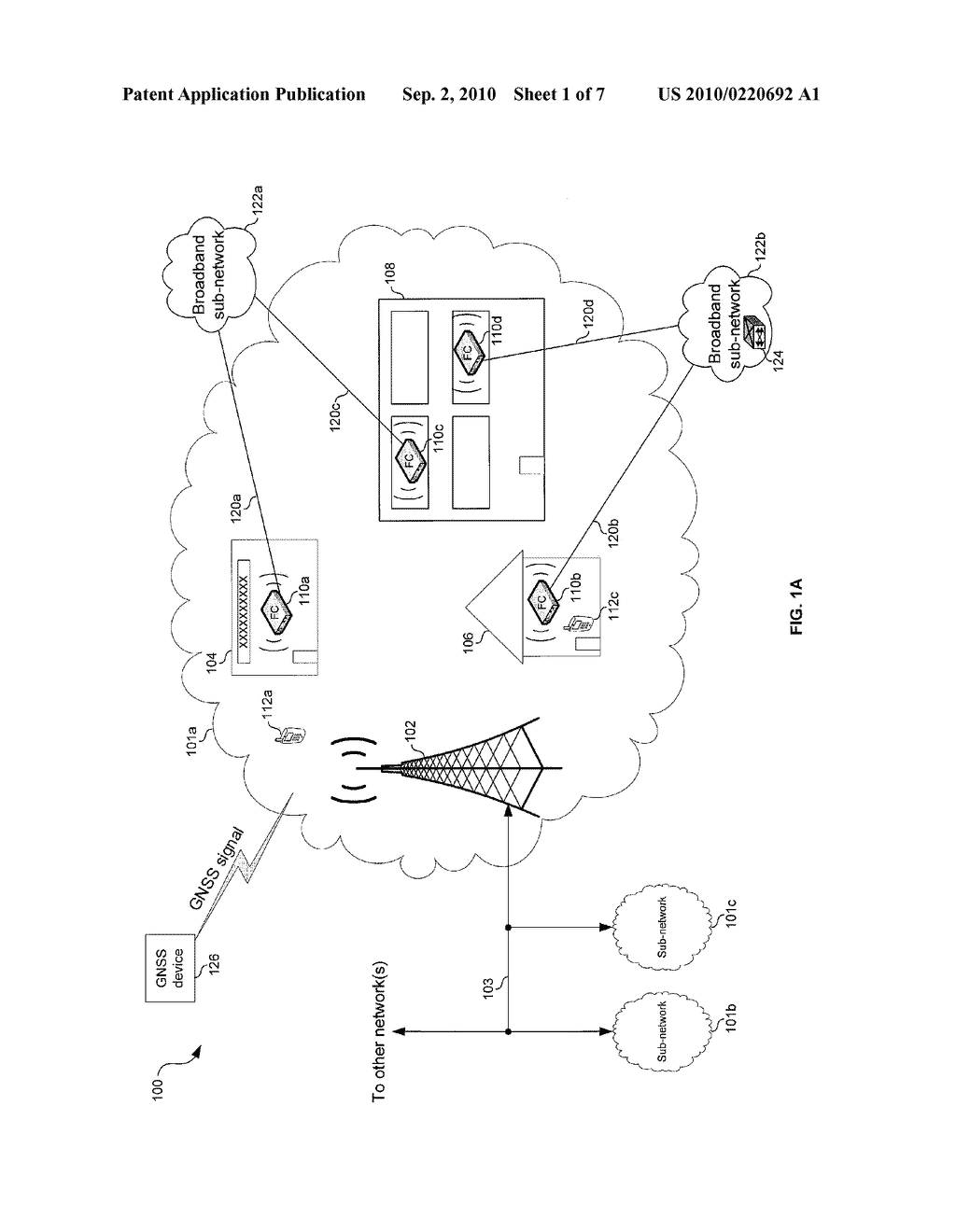 METHOD AND SYSTEM FOR NETWORK SYNCHRONIZATION VIA A FEMTOCELL - diagram, schematic, and image 02