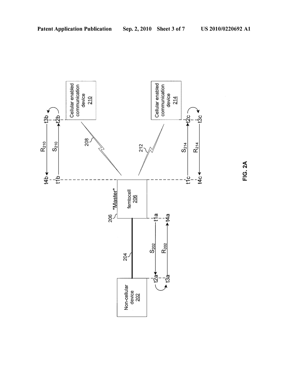 METHOD AND SYSTEM FOR NETWORK SYNCHRONIZATION VIA A FEMTOCELL - diagram, schematic, and image 04