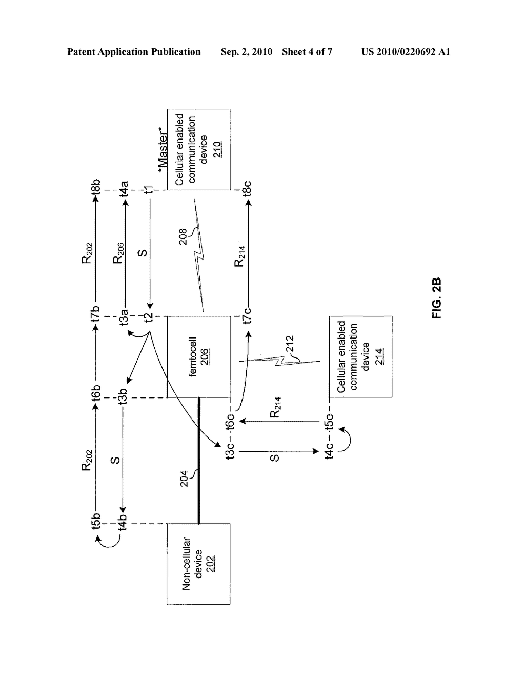 METHOD AND SYSTEM FOR NETWORK SYNCHRONIZATION VIA A FEMTOCELL - diagram, schematic, and image 05