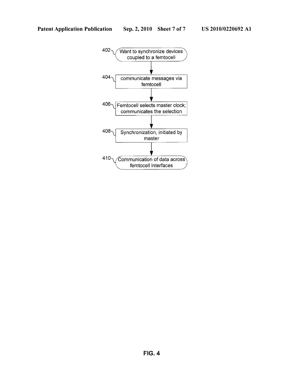 METHOD AND SYSTEM FOR NETWORK SYNCHRONIZATION VIA A FEMTOCELL - diagram, schematic, and image 08