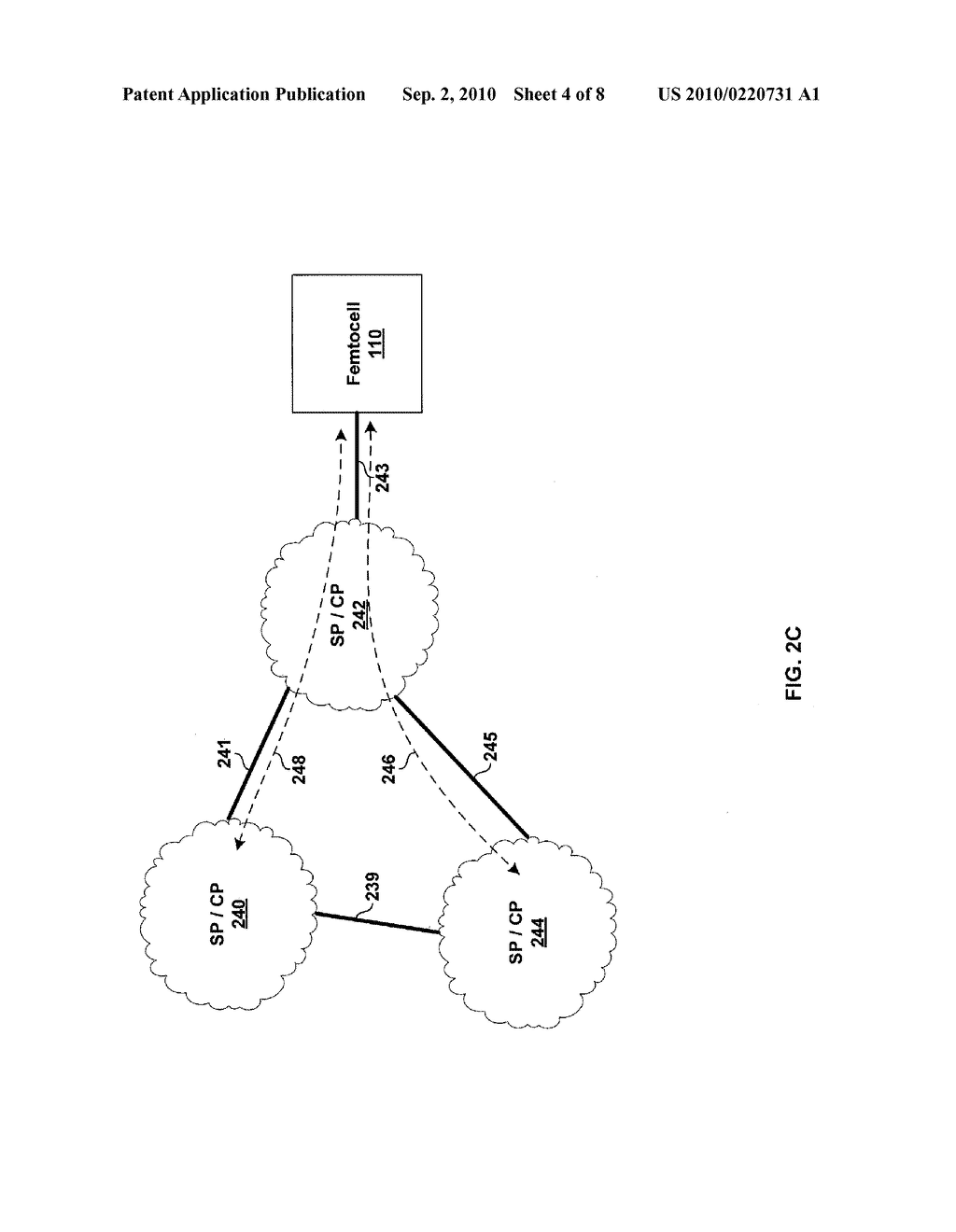 METHOD AND SYSTEM FOR SUPPORTING A PLURALITY OF PROVIDERS VIA A SINGLE FEMTOCELL - diagram, schematic, and image 05