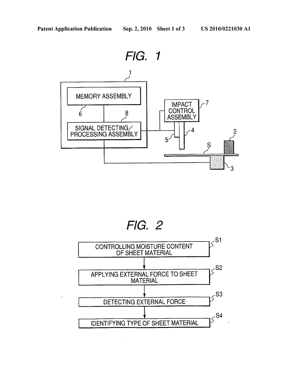 Sheet material identifying apparatus, sheet material treating apparatus and sheet material identifying Method - diagram, schematic, and image 02