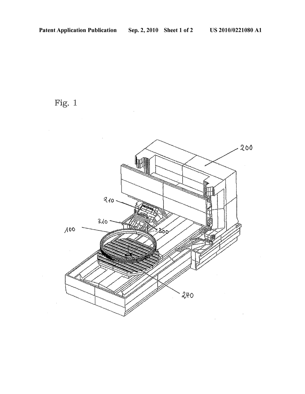 DEVICE FOR GENERATION MACHINING A WORKPIECE CLAMPED IN A MACHINE TOOL AND A METHOD FOR MANUFACTURING A WORKPIECE HAVING A GEARING - diagram, schematic, and image 02