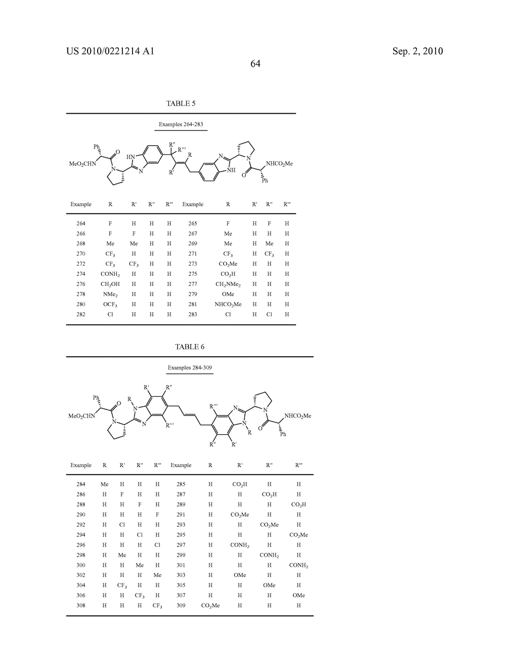 LINKED DIBENZIMIDAZOLE DERIVATIVES - diagram, schematic, and image 65