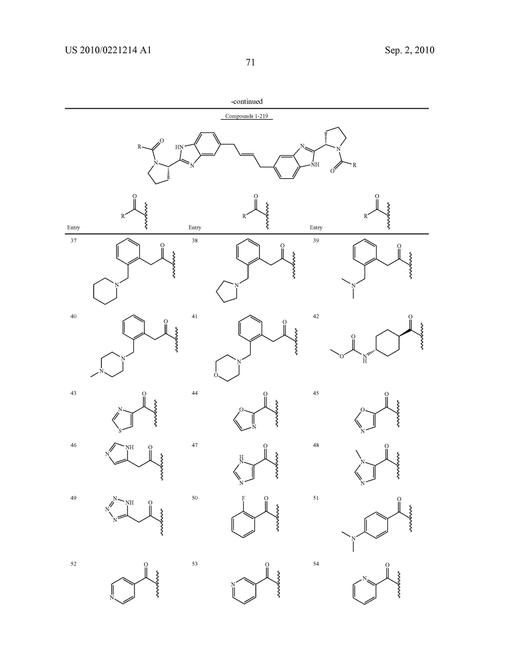 LINKED DIBENZIMIDAZOLE DERIVATIVES - diagram, schematic, and image 72