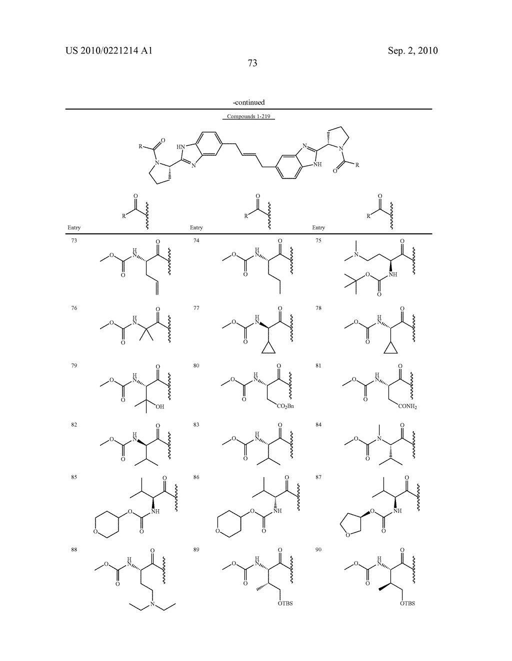 LINKED DIBENZIMIDAZOLE DERIVATIVES - diagram, schematic, and image 74