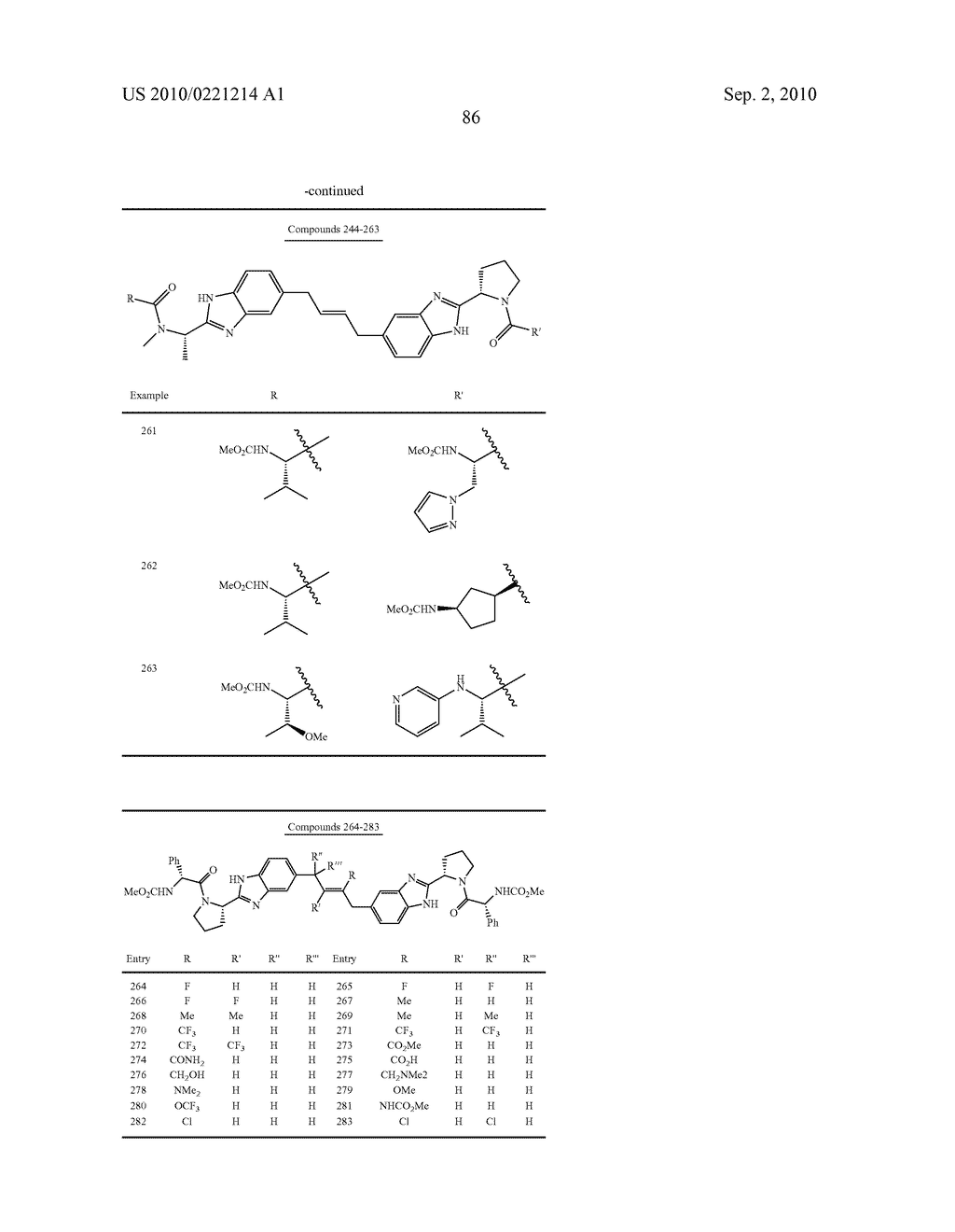 LINKED DIBENZIMIDAZOLE DERIVATIVES - diagram, schematic, and image 87