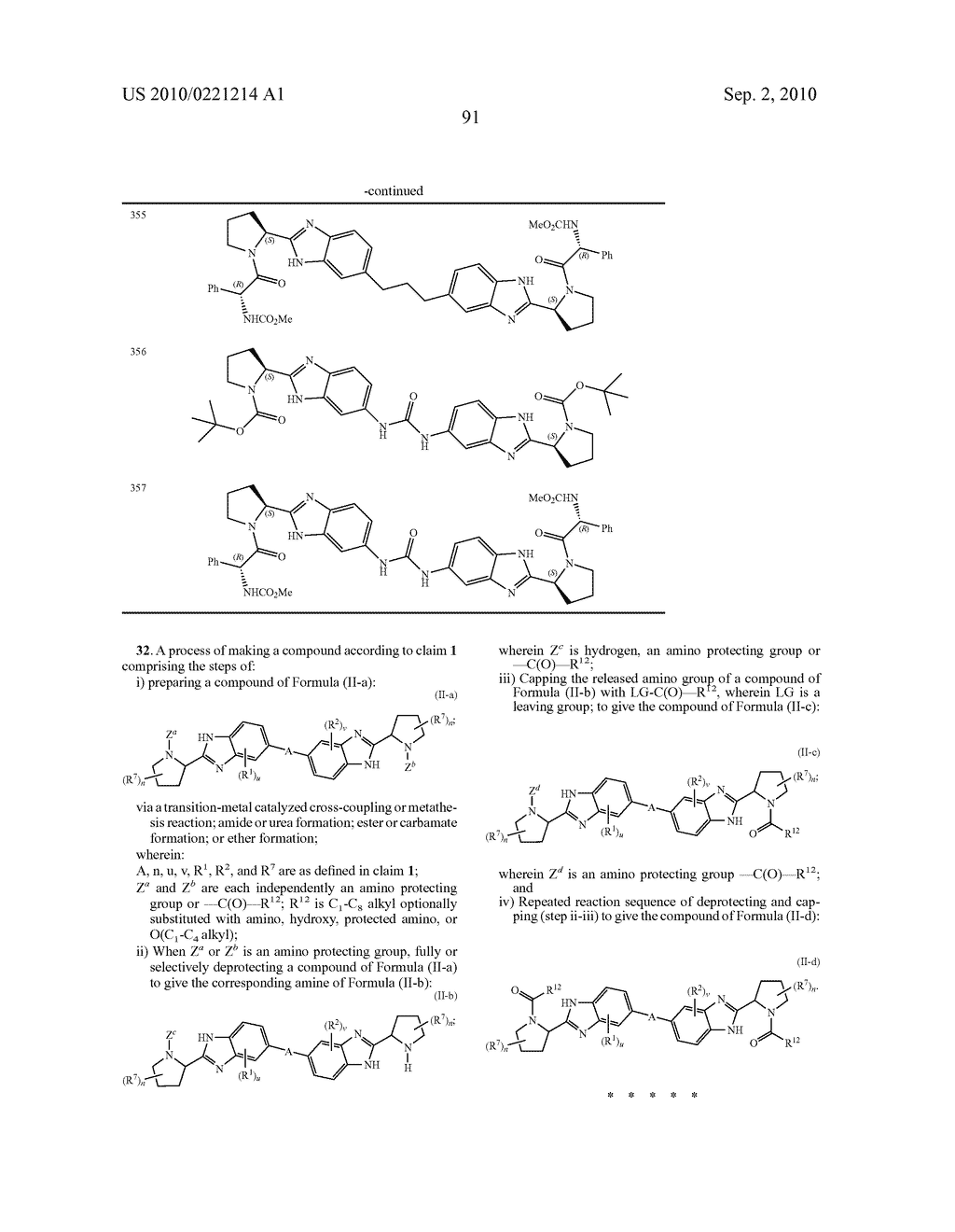 LINKED DIBENZIMIDAZOLE DERIVATIVES - diagram, schematic, and image 92